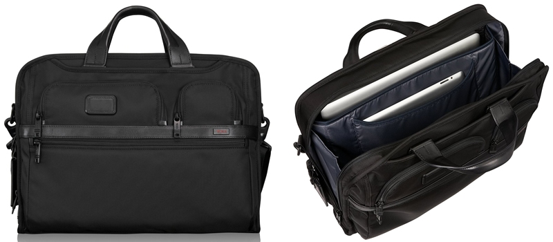 TUMI Alpha 2 Compact Large Screen Laptop Brief Review