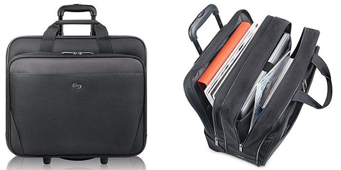 Solo Classic CLS910-4 Rolling Laptop Bag Reviewed