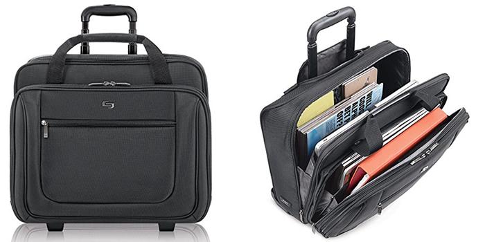 Solo Classic PT136-4 Rolling Laptop Bag
