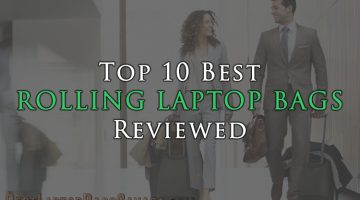 Top 10 Best Rolling Laptop Bags Reviewed | For Men and Women in Canada