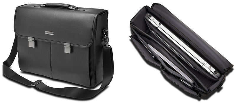 Kensington LM550 Professional Leather Laptop Briefcase Canada Review