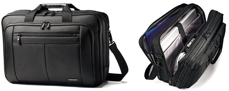 Samsonite Classic Three Gusset Toploader Laptop Bag Review