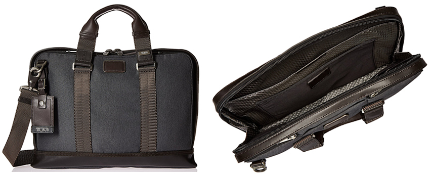 TUMI Alpha Bravo Andrews Slim Brief Review