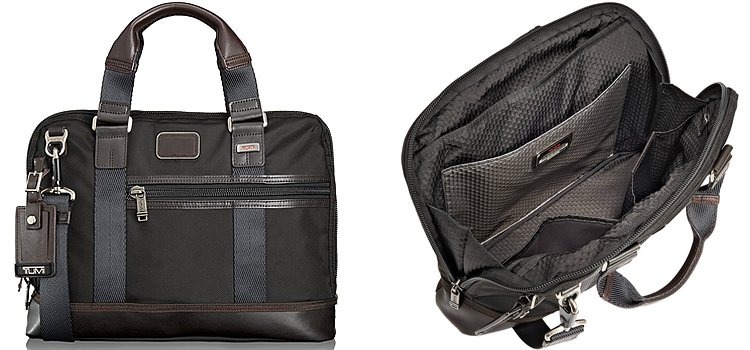 TUMI Alpha Bravo Earle Compact Brief Review