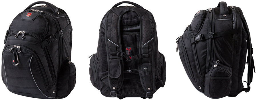 Swiss Gear SWA9855C Men's Laptop Backpack Reviewed Canada