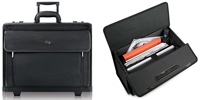 Solo Classic PV78-4 Rolling Laptop Briefcase Reviewed